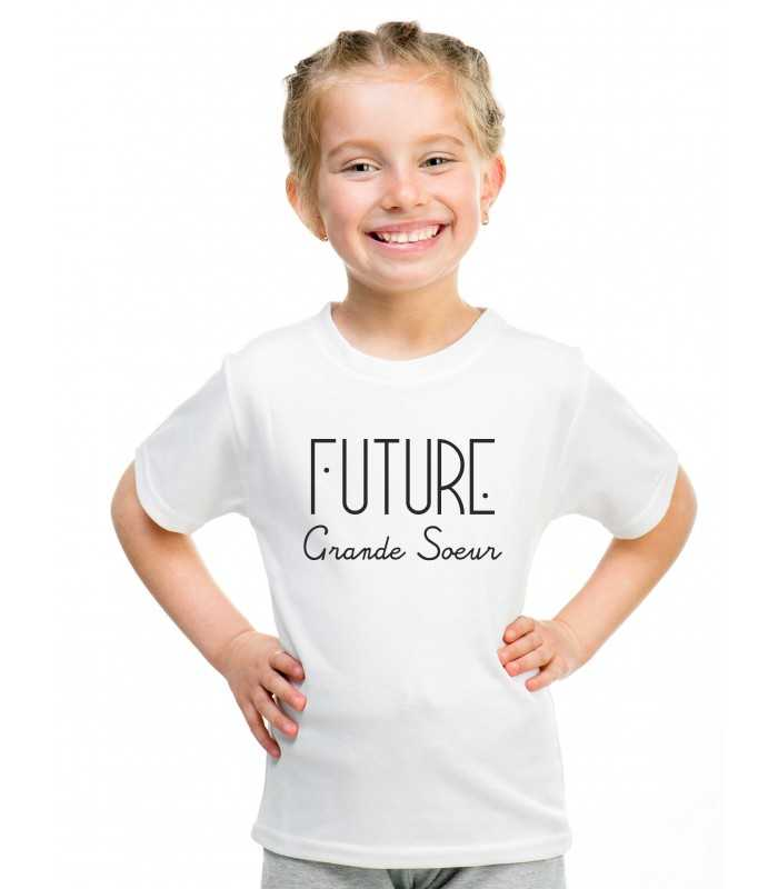 T Shirt Fille Future Grande Soeur