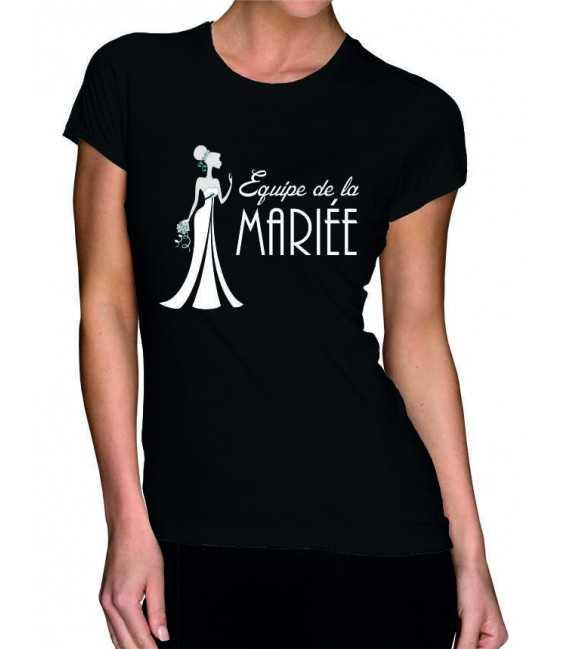 T-shirt femme EVJF Mariée