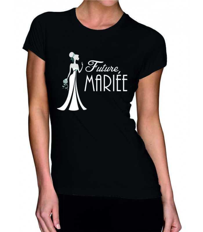 T Evjf Mariée Shirt Future Femme AL3R4q5j