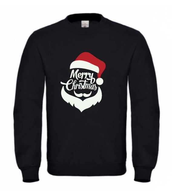 Sweat homme merry christmas PERE NOEL