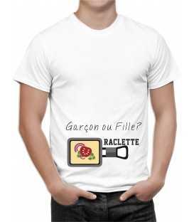 T-shirt homme Humour Raclette