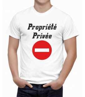T-shirt homme Propriété privée