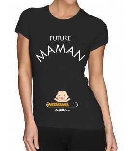 T-shirt femme Future Maman Loading