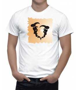 T-shirt Homme Horoscope Gemeaux