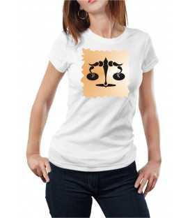 T-shirt femme Horoscope Balance