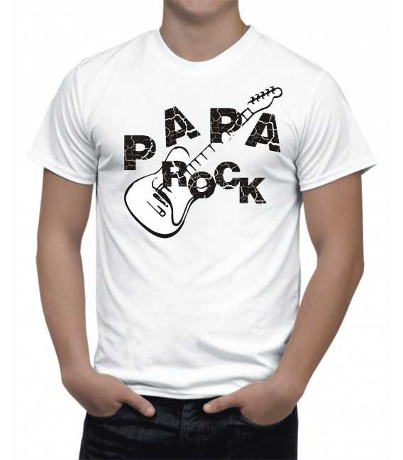 T-shirt Homme  Papa Rock