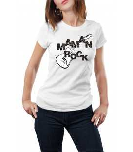 Tee Shirt femme   maman rock