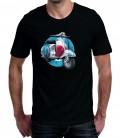 T-shirt homme imprimé Scooter