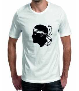 T-shirt homme imprimé Emblème corse