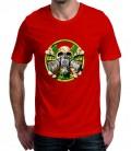T-shirt homme imprimé Tête de mort