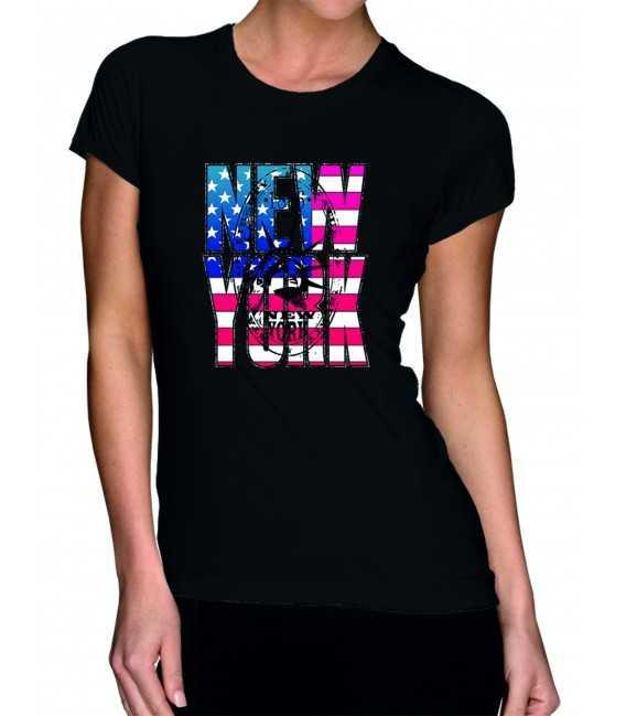 T-shirt femme modèle OK
