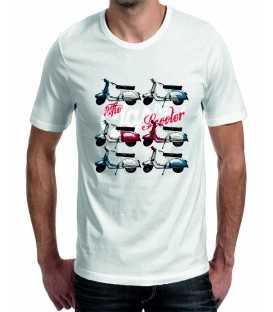 T-shirt homme imprimé Scooters
