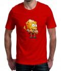 T-shirt homme imprimé Bart Bob L'éponge