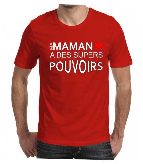 T-shirt homme maman