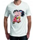 T-shirt homme Balade en Vespa