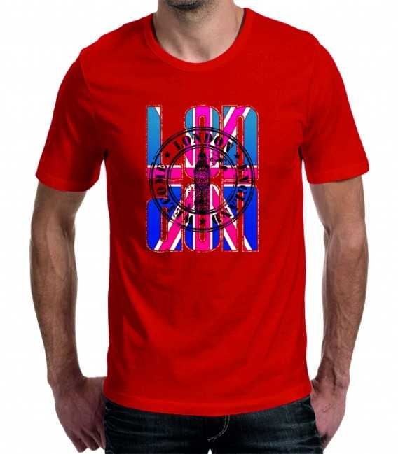 T-shirt homme London