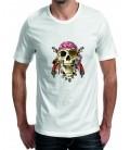 T-shirt homme tête de mort like Sparrow