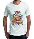 T-shirt homme Casque Vintage Cassette Rock