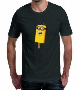 T-shirt homme Minion Sucette Glace à l'eau