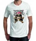T-shirt homme tête de Mort Rock Skull