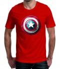 T-shirt homme Bouclier Captain America