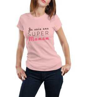 T-shirt je suis une maman qui déchire