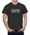 T-shirt homme  Stupid