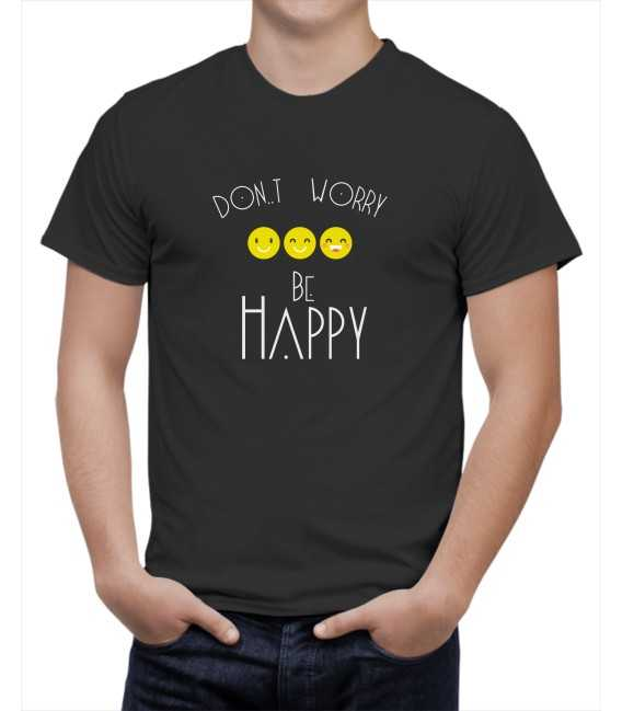 T-shirt homme Happy