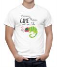 T-shirt homme Monsieur et Madame Camé Léon