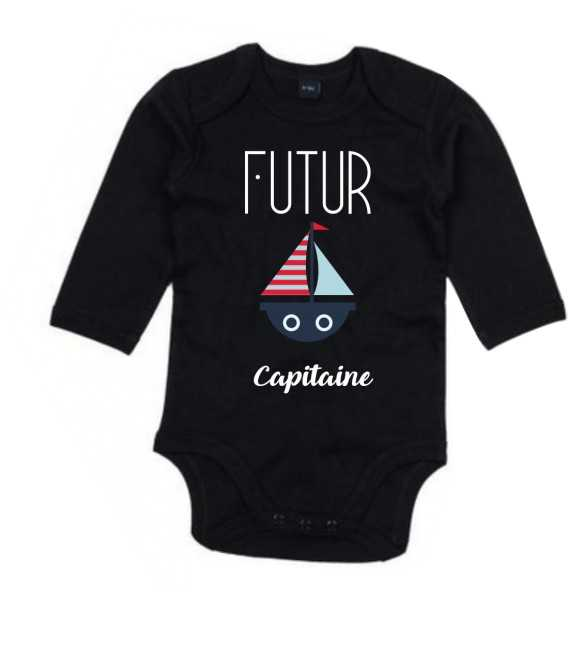 Body Bébé Futur Capitaine