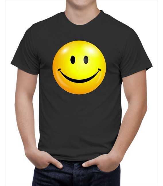T-shirt homme Emoticone Heureux