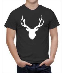 T-shirt homme Tête de Cerf
