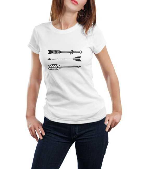T-shirt femme Flèches Vintage