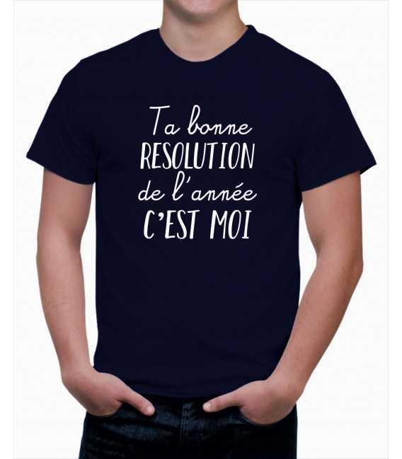 T-shirt homme Ta Bonne Résolution de l'année... C'est Moi