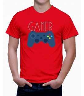 T-shirt homme Ordinateur Gamer Manette de Jeux Vidéo
