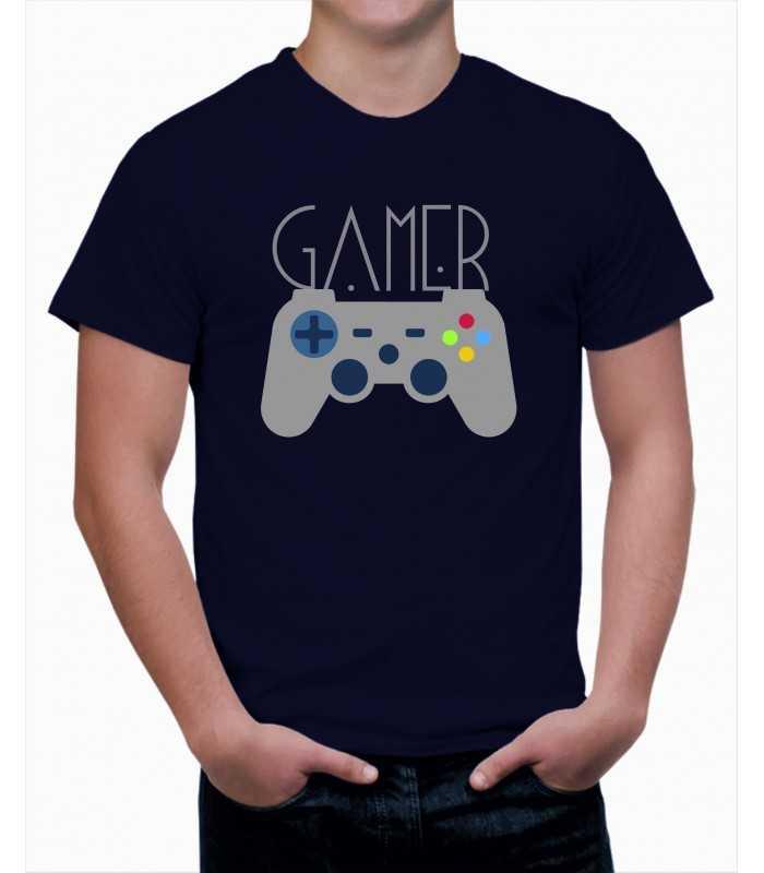 T-shirt homme Ordinateur Gamer Manette de Jeux Vidéo 012f5061c76a