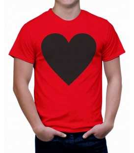 T-shirt homme Coeur Vintage