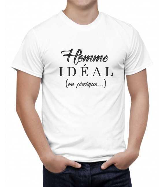 T-shirt homme idéal (ou presque...)