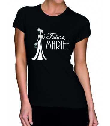 T-shirt femme EVJF Future Mariée
