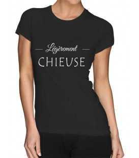 T-shirt femme  Légèrement Chieuse