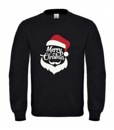 Sweat homme merry christmas PERE NOEL
