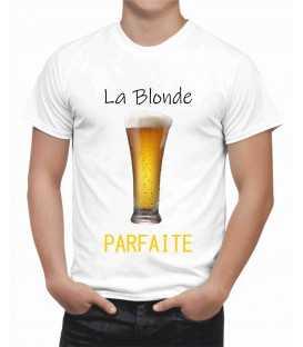 T-shirt homme La Blonde Parfaite