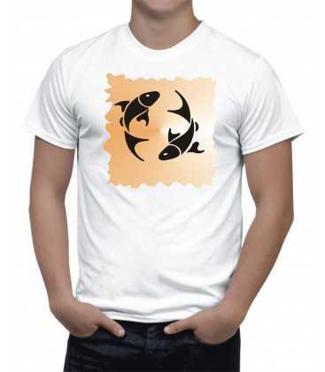 T-shirt Homme horoscope poisson