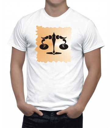 T-shirt Homme  Horoscope Balance