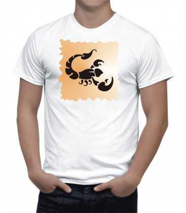 T-shirt Homme  Horoscope Scorpion