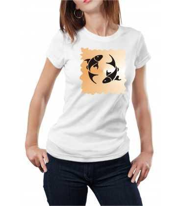T-shirt femme Horoscope Poisson