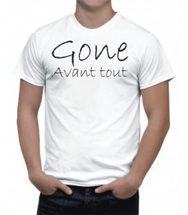 T-shirt Homme gone avant tout