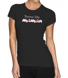 T-shirt femme BONNE FÊTE MAMAN