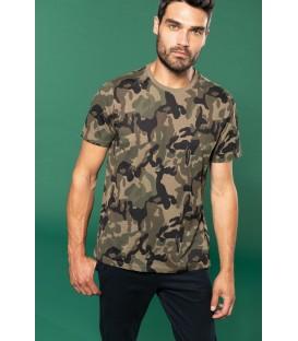 T-shirt homme modèle camouflage
