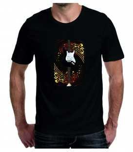 T-shirt homme guitare Gino